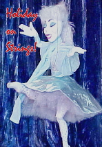 Holiday on Strings ballerina puppet